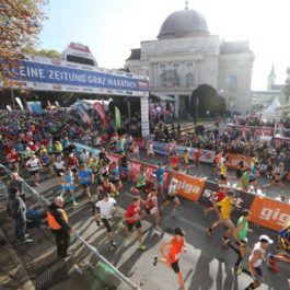 Der Graz Marathon ist am Laufen!