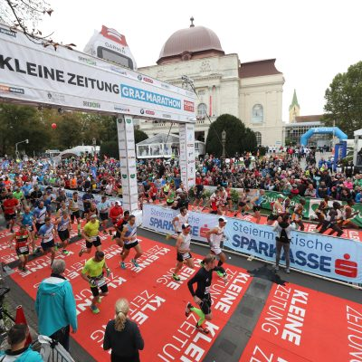 Das war der 24. Graz Marathon