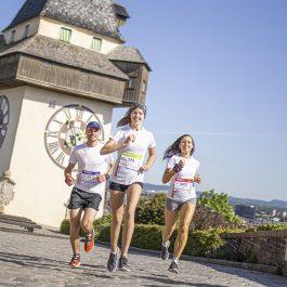 Sechs starke Graz Marathon Testimonials laufen voraus